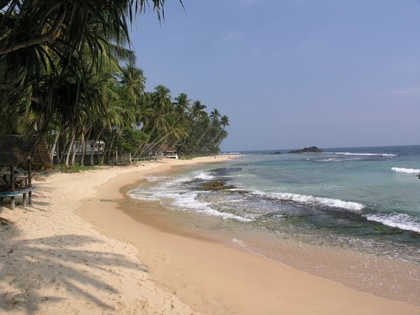 beach of Unawatuna